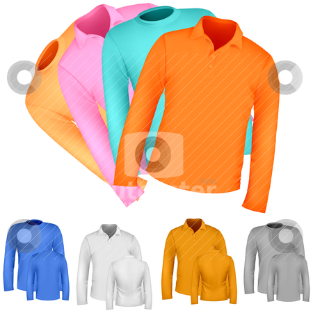 Apparel and T-shirt shirt stock vector clipart, Apparel and T-shirt shirt by pkdinkar