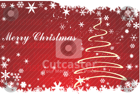 Chirstmas background stock vector clipart, chirstmas background by zabiamedve