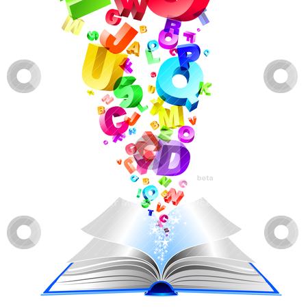 Book stock vector clipart, book by pkdinkar
