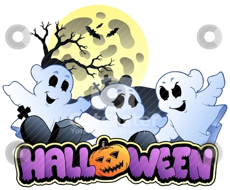 Halloween sign and image 1 stock vector clipart, Halloween sign and image 1 - vector illustration. by Klara Viskova