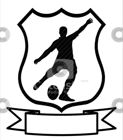 Rugby football Sport Shield stock vector clipart, Rugby Football Sport ...