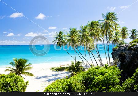 beach stock photo, Bottom Bay, Barbados, Caribbean by Richard Semik