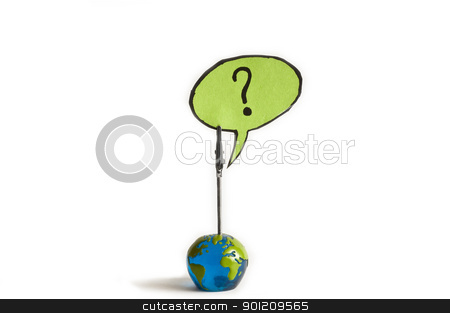 What now stock photo, what now ? question mark from a globe by sielemann
