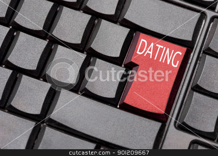 dating computer key stock photo, dating computer key by sielemann