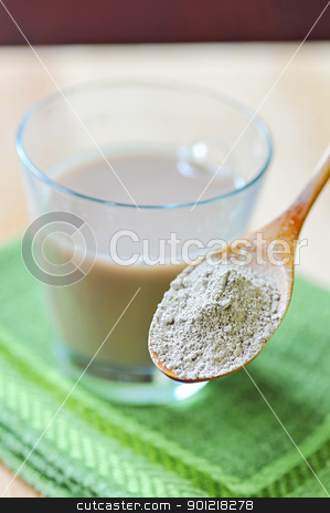 clay nutritive supplement stock photo, clay nutritive supplement by jordachelr