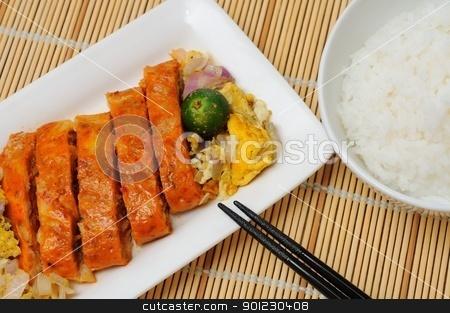 Creative Southeast Asian cuisine stock photo, Creative and unique Southeast Asian seafood cuisine. by Wai Chung Tang