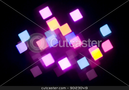 glowing magenta lights stock photo, unusual abstract background of glowing coloured lights by Stephen Gibson