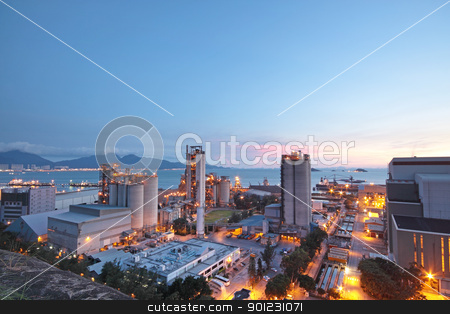 Cement Plant,Concrete or cement factory, heavy industry or const stock photo, Cement Plant,Concrete or cement factory, heavy industry or construction industry.  by Keng po Leung