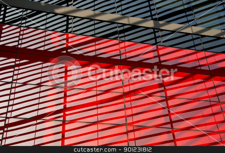 Modern architecture background stock photo, Modern facade close-up picture, steel structure reflecting on the glass by Dutourdumonde