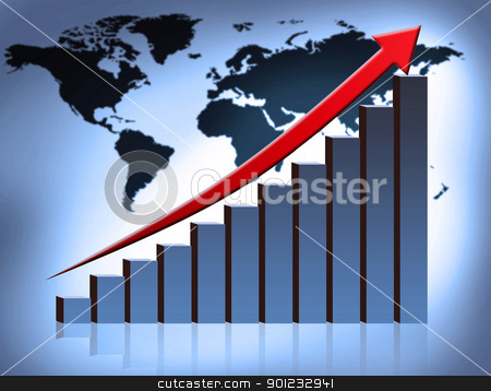 graph stock photo, chart by warenemy