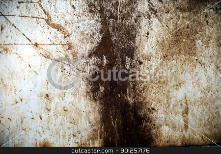 Rusty metal surface stock photo, Grunge background from rusty metal sheet by Imaster