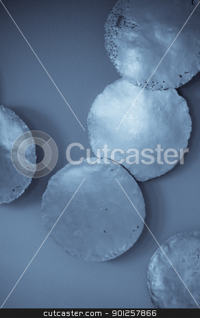 Decorations stock photo, Abstract wall decorations by Cora Reed