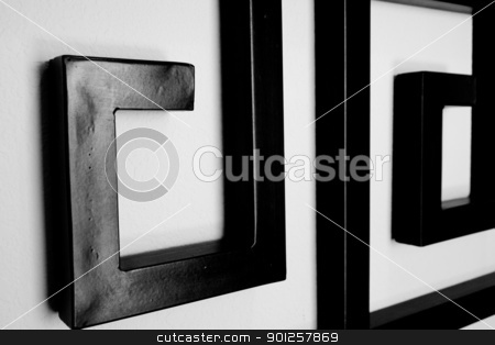 Black and white stock photo, Black and white abstract by Cora Reed