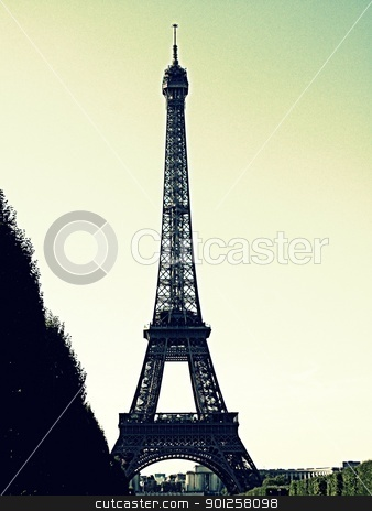 Eiffel Tower stock photo, Eiffel Tower by Cora Reed