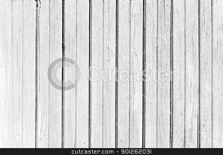 Weathered wood stock photo, A background of weathered wooden a plank by Imaster