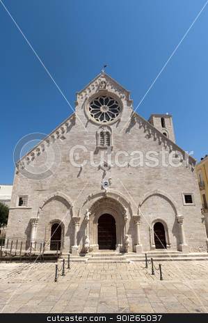 Ruvo (Bari, Puglia, Italy) - Old cathedral in Romanesque style stock photo, Ruvo (Bari, Puglia, Italy) - Old cathedral in Romanesque style (12th-13th century) by clodio
