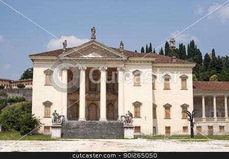 Montorso Vicentino (Vicenza, Veneto, Italy) - Villa Da Porto, hi stock photo, Montorso Vicentino (Vicenza, Veneto, Italy) - Villa Da Porto, historic building (16th - 18th century) by clodio