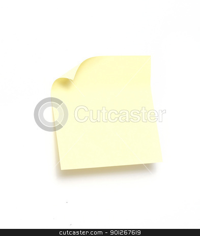 Note stock photo, Yellow note by Lasse Kristensen@gmail.com