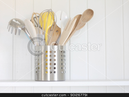 Kitchen tools stock photo, Kitchen tools by Lasse Kristensen@gmail.com