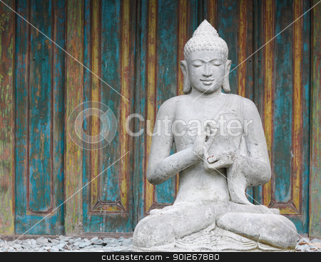 Buddha figure stock photo, Buddha figure by Lasse Kristensen@gmail.com