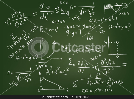 Equations stock photo, Equations by Lasse Kristensen@gmail.com