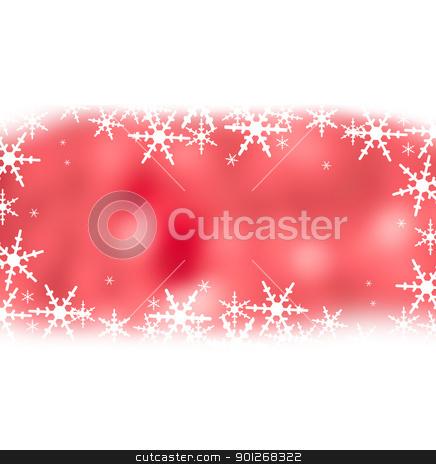 Crystal christmas background stock photo, Crystal christmas background by Lasse Kristensen@gmail.com