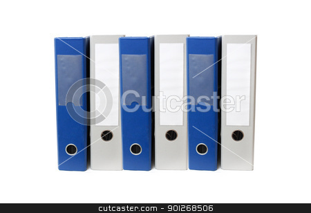 Document folders stock photo, Document folders by Lasse Kristensen@gmail.com