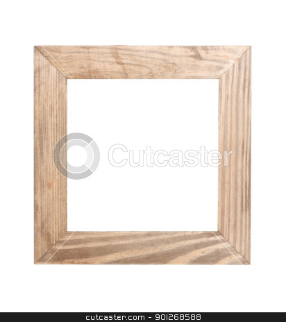 Wooden frame stock photo, Wooden frame by Lasse Kristensen@gmail.com