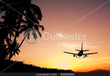 Airplane stock photo, Airplane by Lasse Kristensen@gmail.com