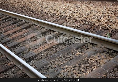 Rail stock photo, Rail by Lasse Kristensen@gmail.com