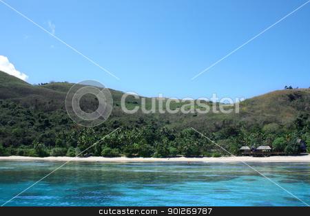 Fiji beach stock photo, A beach on the beautiful islands of Fiji by Lasse Kristensen@gmail.com