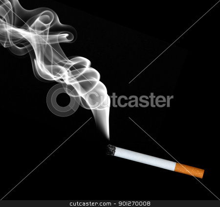 Cigarette stock photo, Cigarette by Lasse Kristensen@gmail.com