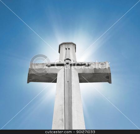 Christian cross stock photo, Christian cross by Lasse Kristensen@gmail.com