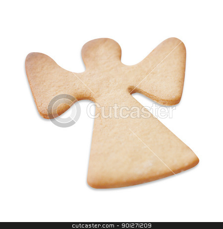 Gingerbread cookies stock photo, Gingerbread cookie on a table top by Lasse Kristensen@gmail.com