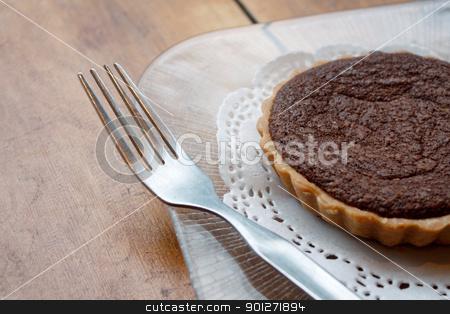 Chocolate cake stock photo, Chocolate cake by Lasse Kristensen@gmail.com