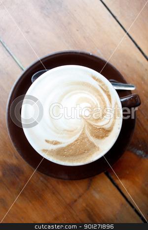 Cappuccino stock photo, A cappuccino by Lasse Kristensen@gmail.com