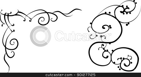 Design elements stock vector clipart, Design elements based on Chinese designs circa 2nd century BC  by Christos Georghiou