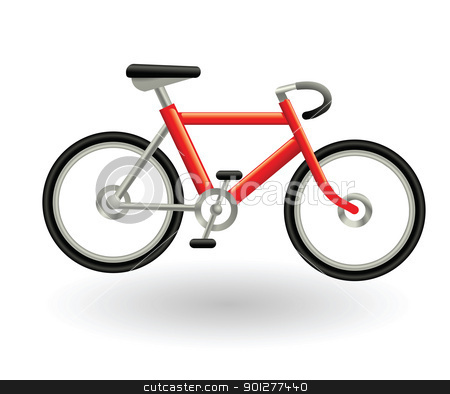 bike stock vector clipart, Illustration of a bicycle by Christos Georghiou