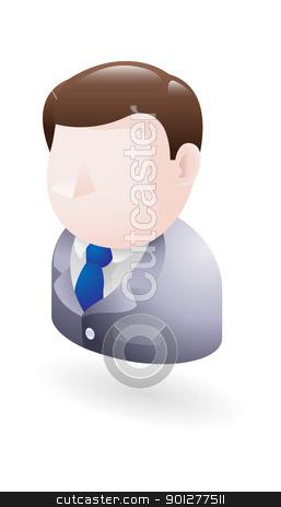 businessman  illustration stock vector clipart, Illustration of a businessman by Christos Georghiou