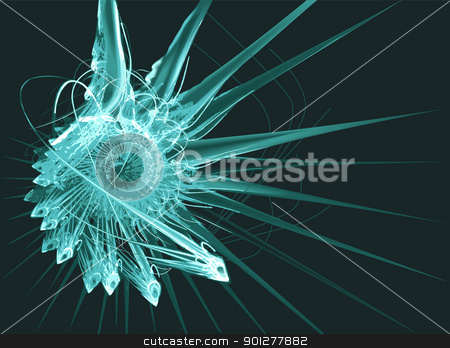 Grunge background stock vector clipart, An abstract conceptual background. No meshes used  by Christos Georghiou