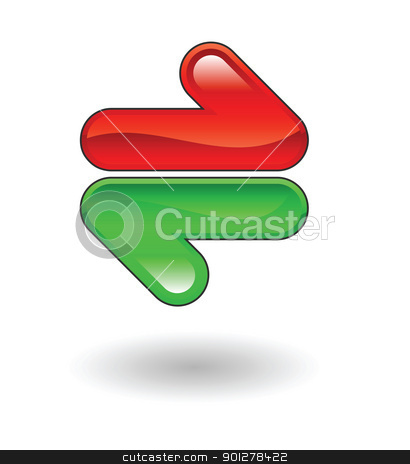 refresh illustration stock vector clipart, Illustration of refresh computer icon by Christos Georghiou