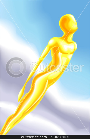 soul Illustration stock vector clipart, A conceptual piece, no meshes used  by Christos Georghiou