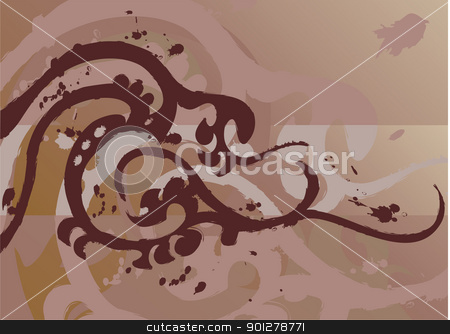 tattoo stock vector clipart, Tattoo style grunge background  by Christos Georghiou