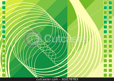 abstract techno background stock vector clipart, A Background  by Christos Georghiou