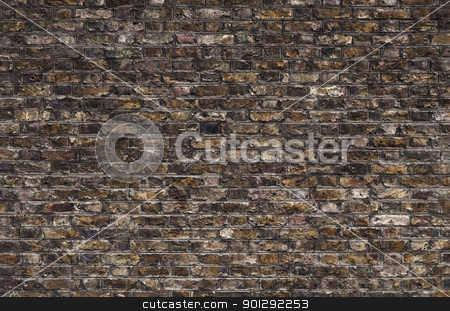 Brick wall stock photo, Old brick wall perfect as a background by Dutourdumonde