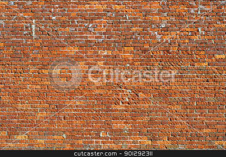 Brick wall stock photo, Brick wall perfect as a background by Dutourdumonde