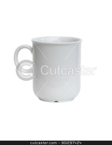 White Coffee Mug stock photo, White Mug on a white background by Tyler Olson