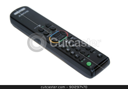 Remote Control stock photo, remote control isolated on white by Tyler Olson