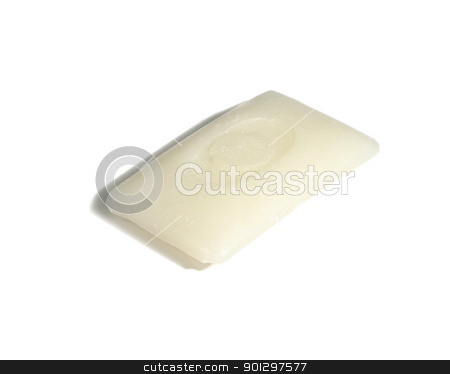 Hotel Soap stock photo, hotel soap isolated on white by Tyler Olson