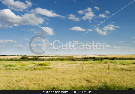 Eastend Saskatchewan stock photo, The town of Eastend Saskatchewan, Canada by Tyler Olson